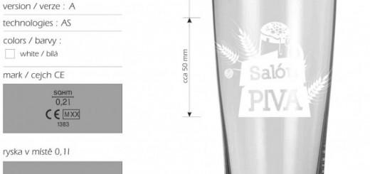 salon piva 2015 pohar sahm aspen 0,25l